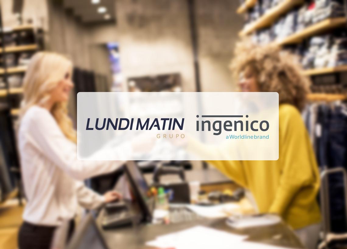 Colaboración LUNDI MATIN x INGENICO